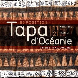 affiche exposition Tapa
