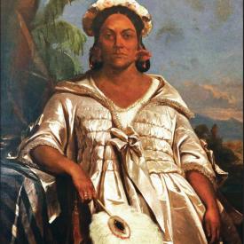 Portrait de la reine Pomare- Charles Giraud ©MTI