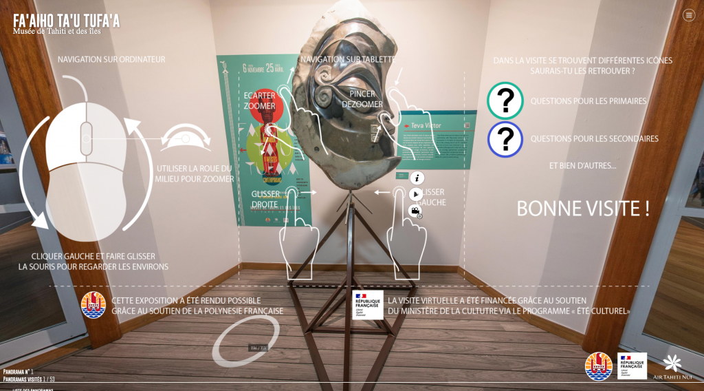 expo virtuelle musee de tahiti